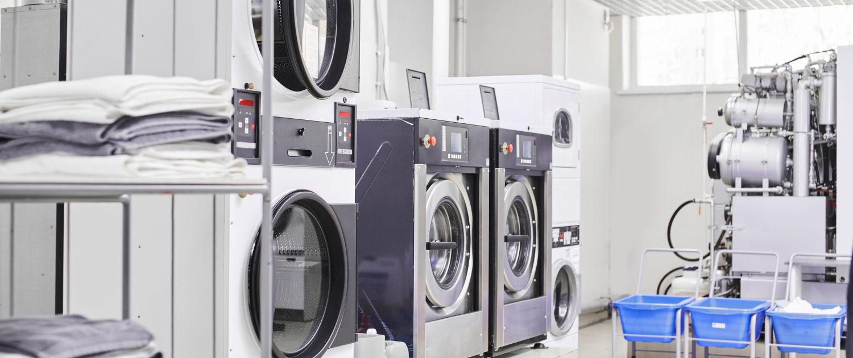 Limpieza en el sector lavandería industrial