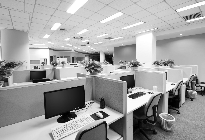 Limpieza industrial en oficinas